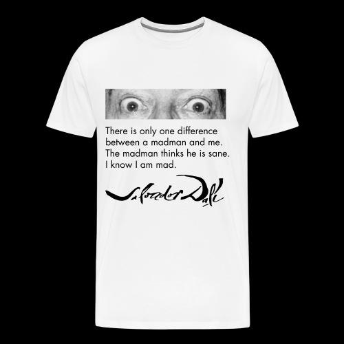 Salvador Dali - Men's Premium T-Shirt