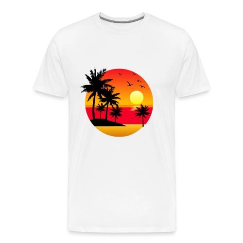 Sunset Summer T-Shirt - Men's Premium T-Shirt