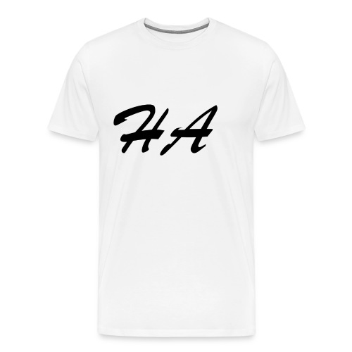 Hamees Anis short form logo - Men's Premium T-Shirt