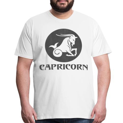 Capricorn Astrological Sign - Men's Premium T-Shirt