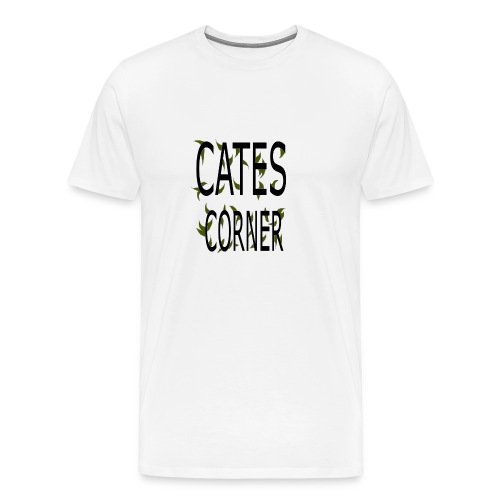 cates corner - Men's Premium T-Shirt