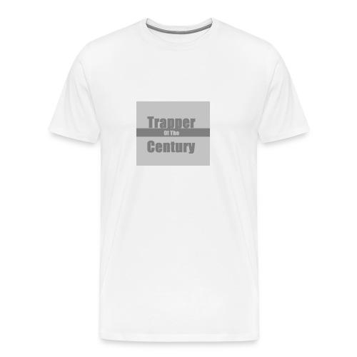 Trapper of the century original design syranical - Men's Premium T-Shirt