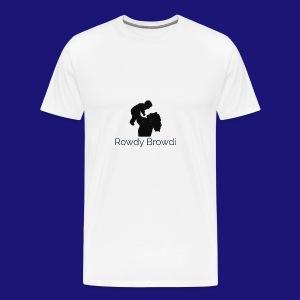 Rowdy Browdi Mama - Men's Premium T-Shirt