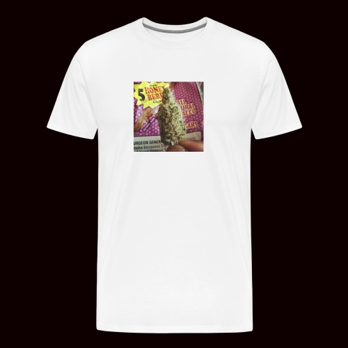 weed the best - Men's Premium T-Shirt