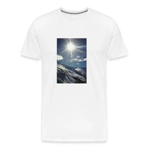 sun snow - Men's Premium T-Shirt