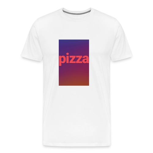 the pizza supreme - Men's Premium T-Shirt