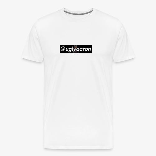 @uglyaaron Box Logo - Men's Premium T-Shirt