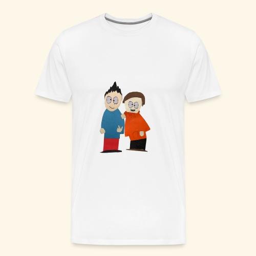 Mark and Milton! - Men's Premium T-Shirt