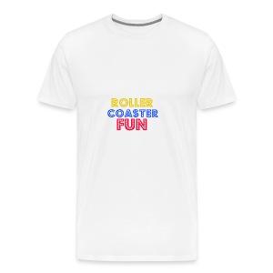 Roller coaster Fun - Men's Premium T-Shirt