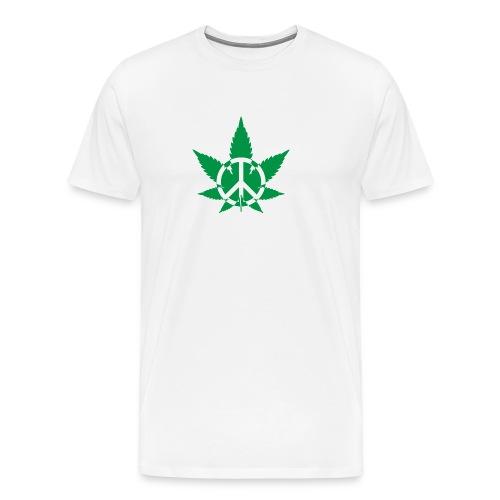 Peace Weed - Men's Premium T-Shirt