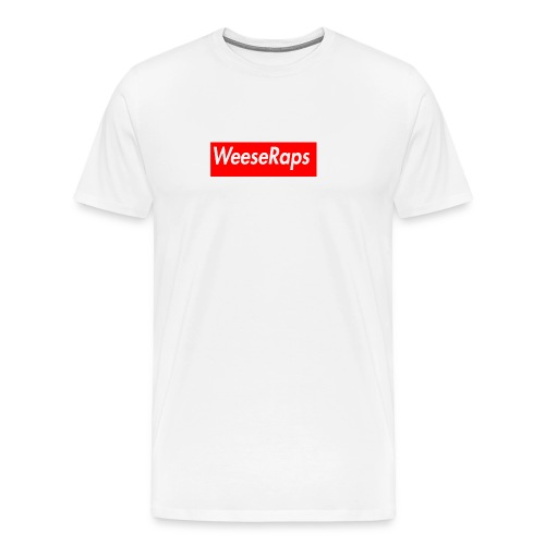 WeeseRaps Supreme Design - Men's Premium T-Shirt