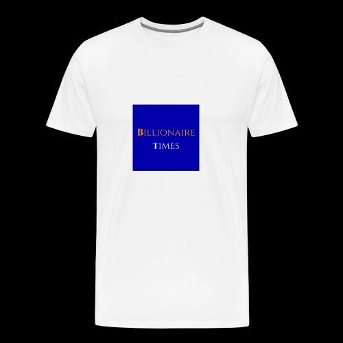 Billionaire Times - Men's Premium T-Shirt