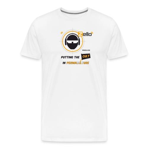 TSP Zello Permaculture Pun - Men's Premium T-Shirt