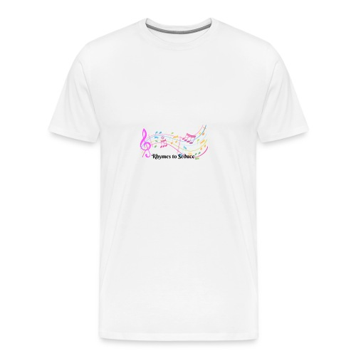 Rhymes to Seduce - Men's Premium T-Shirt