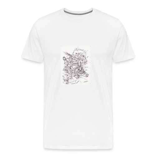 ART WORK Brother and Sister time shift - Men's Premium T-Shirt