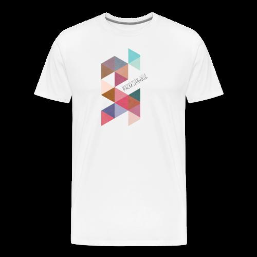 Textured Triangles - Men's Premium T-Shirt