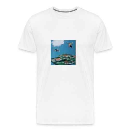 W A V Y - Men's Premium T-Shirt