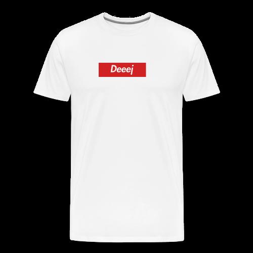 DEEEJ-PREME T SHIRT - Men's Premium T-Shirt