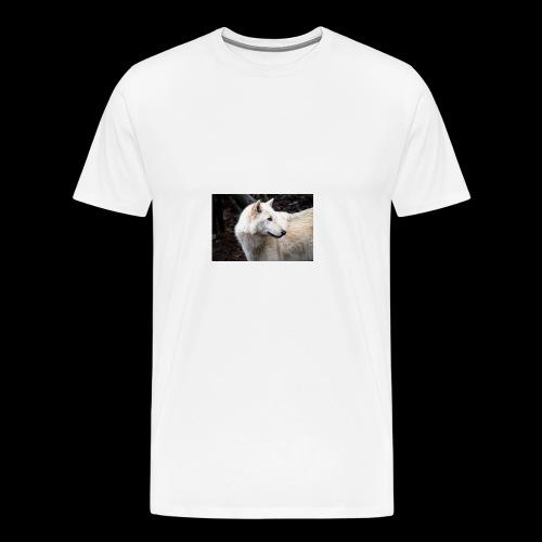 White_Wolf - Men's Premium T-Shirt