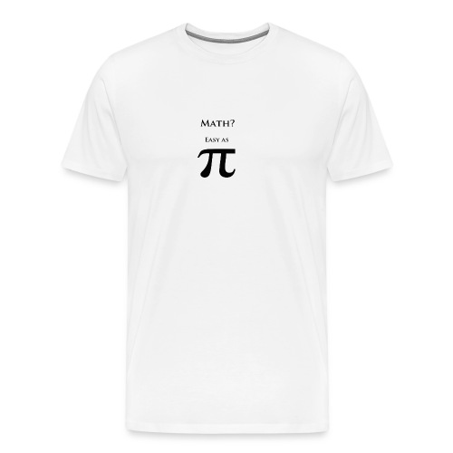 Pi Black - Men's Premium T-Shirt