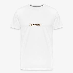 Llamaz YT Channel Merch - Men's Premium T-Shirt