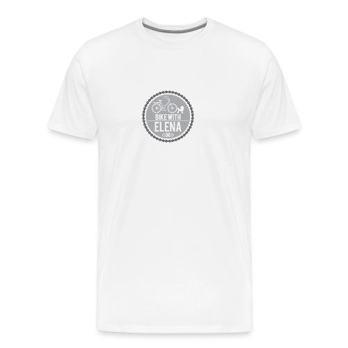 bike with elena - Men's Premium T-Shirt