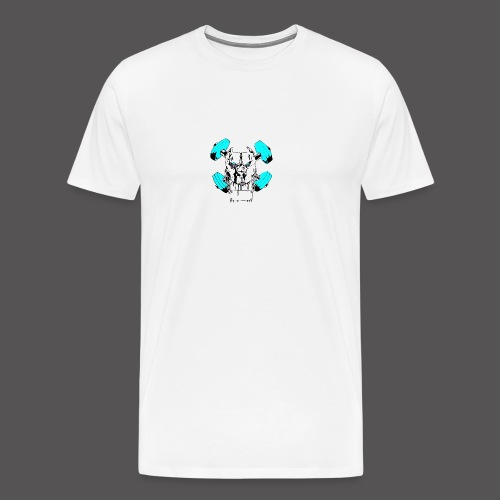 TEAM PIT ICE LOGO - Men's Premium T-Shirt