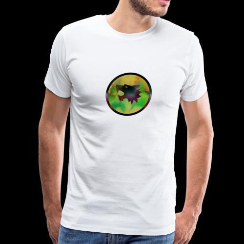 Disco Wolf - Men's Premium T-Shirt
