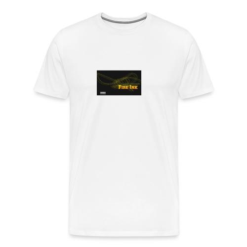 Fire Ink Logo - Men's Premium T-Shirt