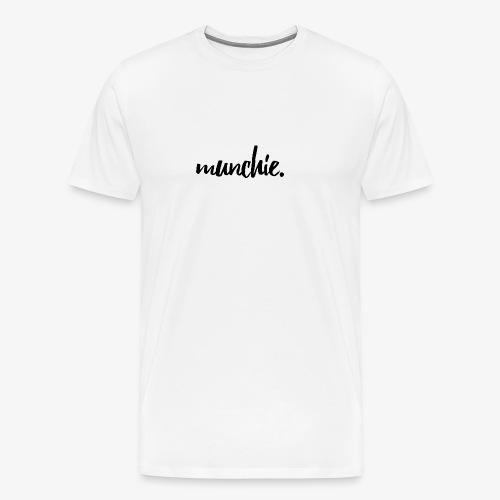 Munchie - Black - Men's Premium T-Shirt
