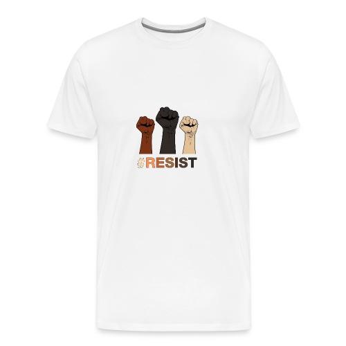 Resist / Racial Justice - Men's Premium T-Shirt