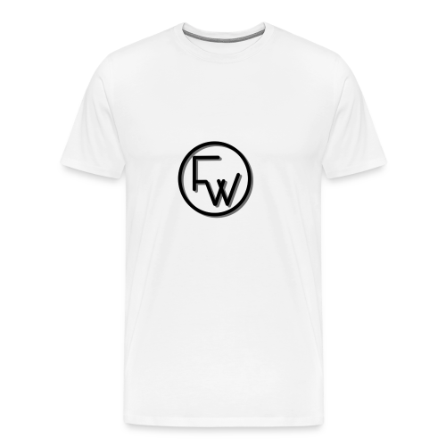 A Funny Wilson Production Black Logo - Men's Premium T-Shirt