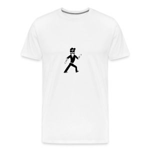 The Famous Mr Warrior - Men's Premium T-Shirt
