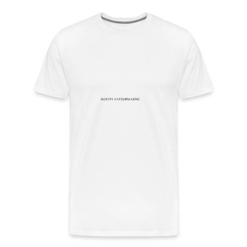 WOLFPLANESUBMARINE - Men's Premium T-Shirt