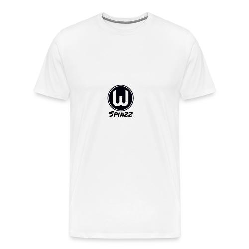 Spinzz Logo - Men's Premium T-Shirt
