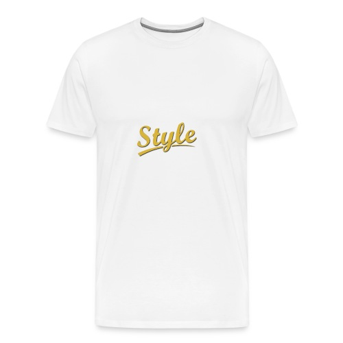 Step in style merchandise - Men's Premium T-Shirt