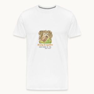 Beauty Everywhere Carolyn Sandstrom - Men's Premium T-Shirt