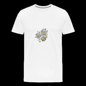 Floral design - Men's Premium T-Shirt