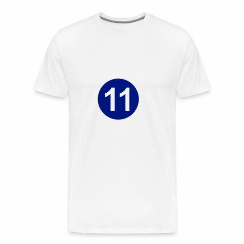 Blue 11 Crew - Men's Premium T-Shirt