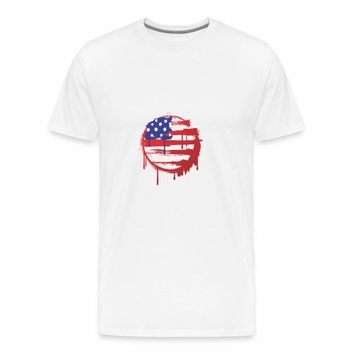 usa bleed - Men's Premium T-Shirt