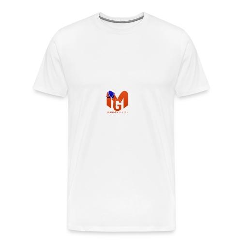 MaddenGamers MG Logo - Men's Premium T-Shirt