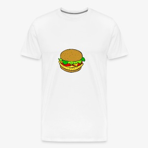 Comic Burger - Men's Premium T-Shirt
