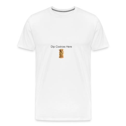 Dip Cookies Here mug - Men's Premium T-Shirt