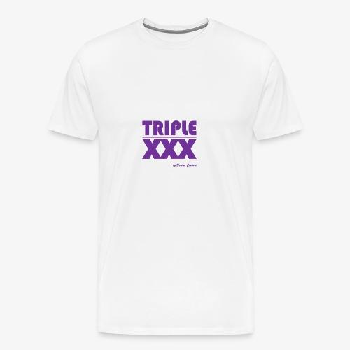 XXX PURPLE - Men's Premium T-Shirt