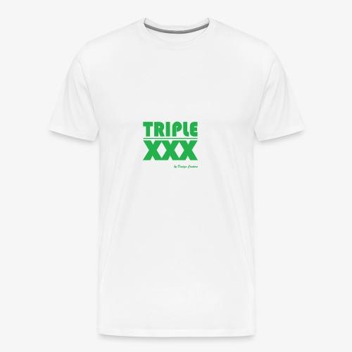 XXX GREEN - Men's Premium T-Shirt