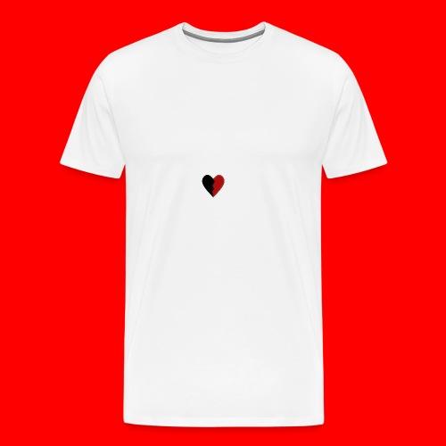 lil hearts (2lit clothing) - Men's Premium T-Shirt