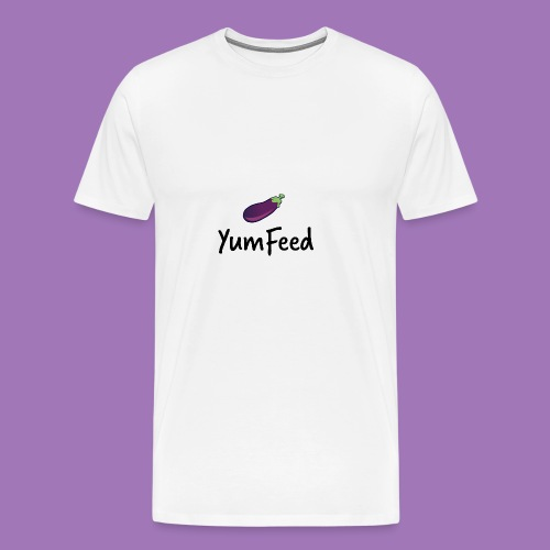 YumFeed logo - Men's Premium T-Shirt