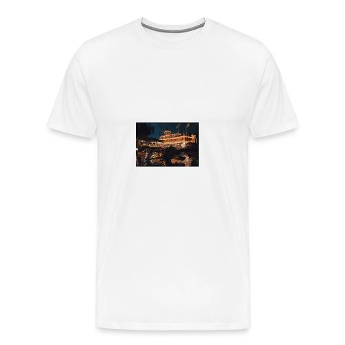 Peaceful Night - Men's Premium T-Shirt