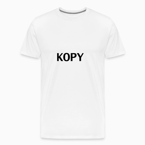 Kopy is the new Copy. - Men's Premium T-Shirt