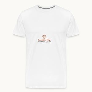 Canadian Bird Photographer - BK Text - Men's Premium T-Shirt